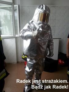 radek strażak
